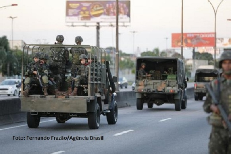 Segurança e Democracia no Brasil: os objetivos da intervenção militar no Rio de Janeiro. Confira o texto da pesquisadora Cristina Zackseski no Estado de Direito 19/03/18